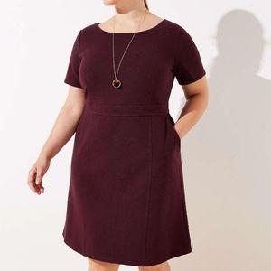 Loft plus pocket dress 16